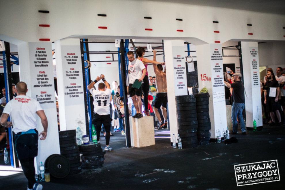 IMG 2452 - CrossFit Kraków - I zawody Klubowe