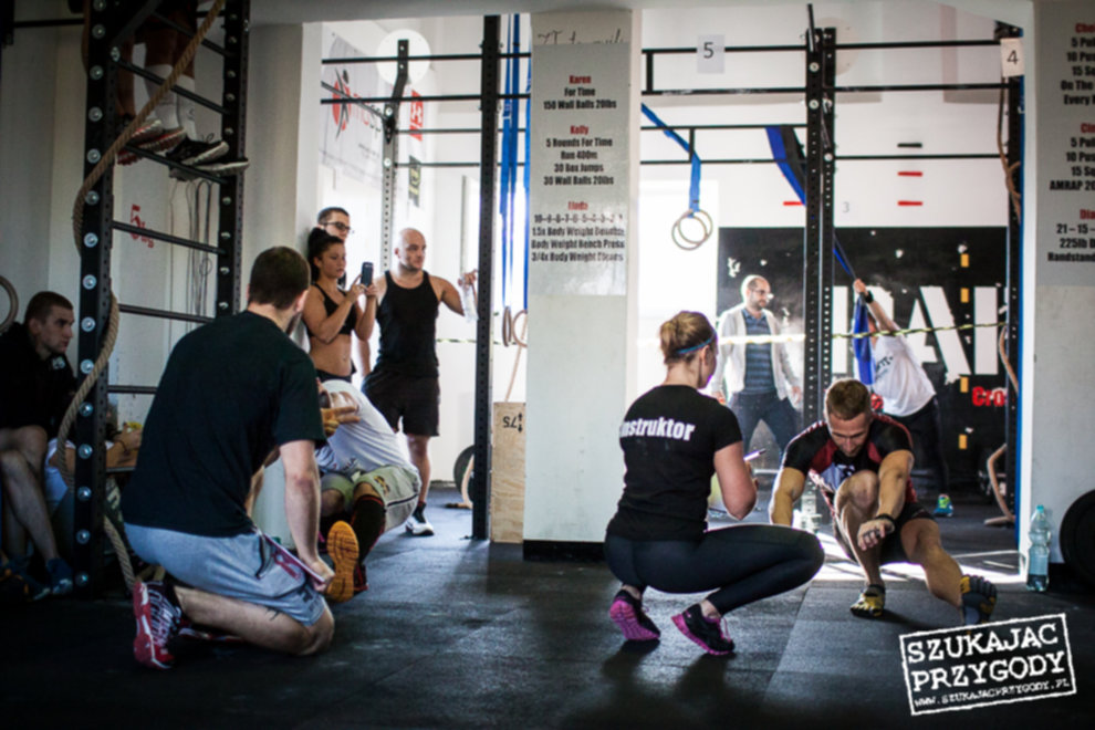 IMG 2499 - CrossFit Kraków - I zawody Klubowe