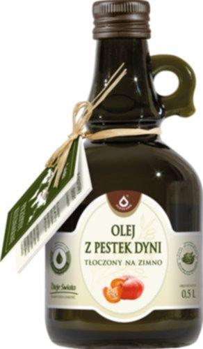 pol pl Olej z pestek dyni 500 ml 134 1 - Pestki dyni – olej z pestek dyni – właściwości