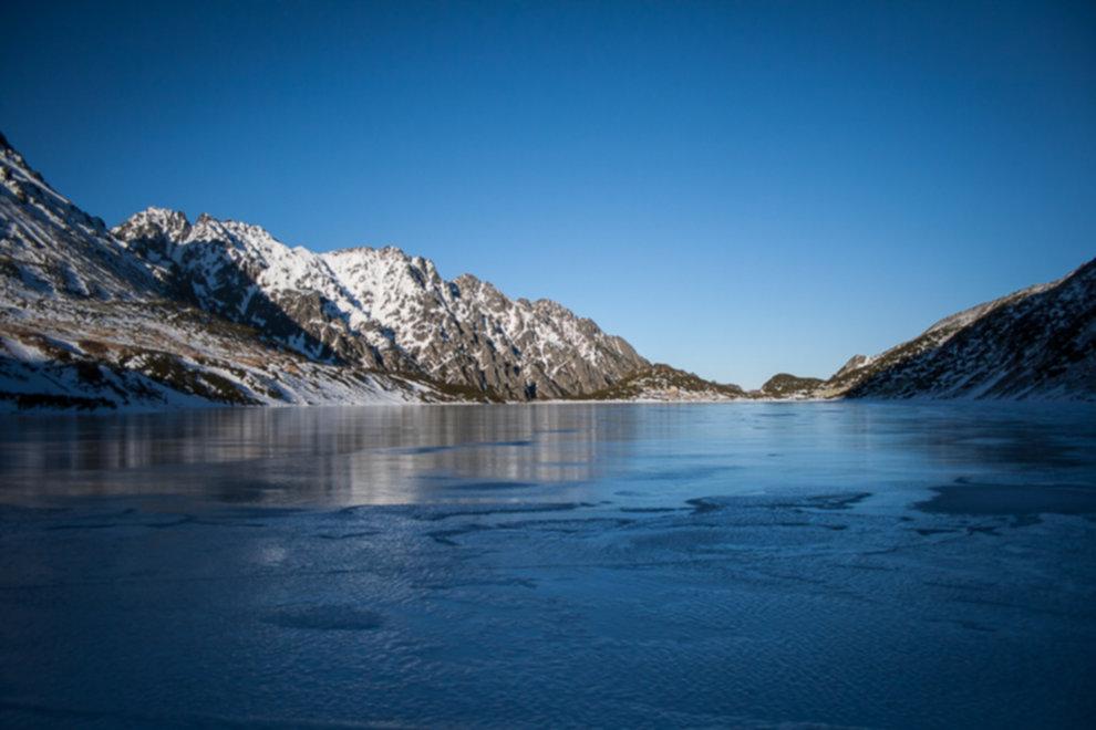 tatry wysokie zima dolina 5 stawow 105 of 221 - Szpiglasowy Wierch i Kozia przełęcz w zimie