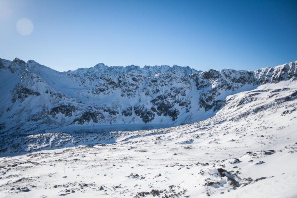 tatry wysokie zima dolina 5 stawow 137 of 221 - Szpiglasowy Wierch i Kozia przełęcz w zimie
