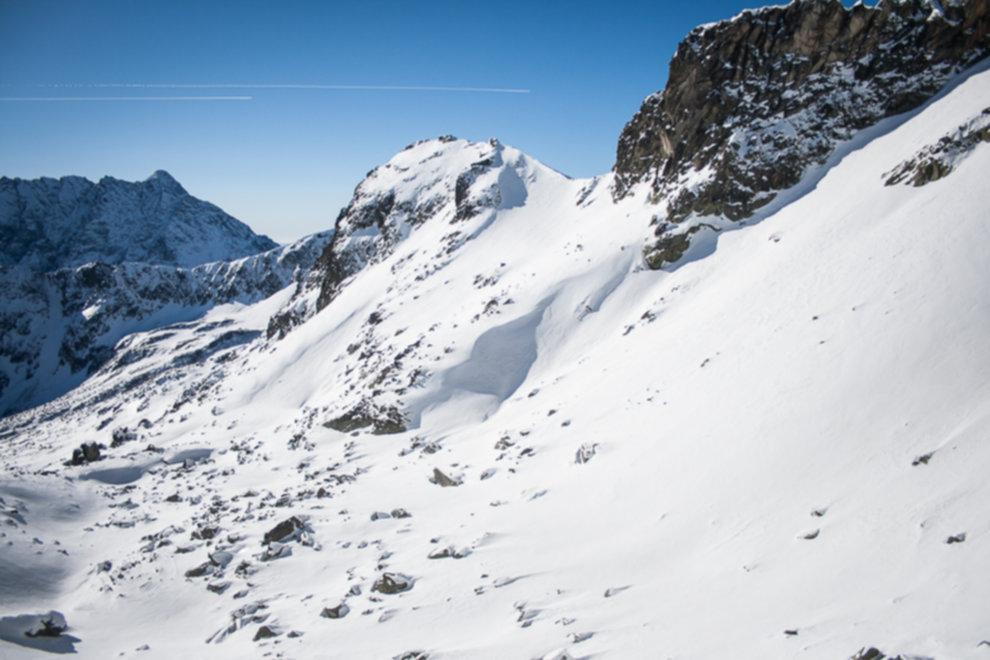 tatry wysokie zima dolina 5 stawow 156 of 221 - Szpiglasowy Wierch i Kozia przełęcz w zimie