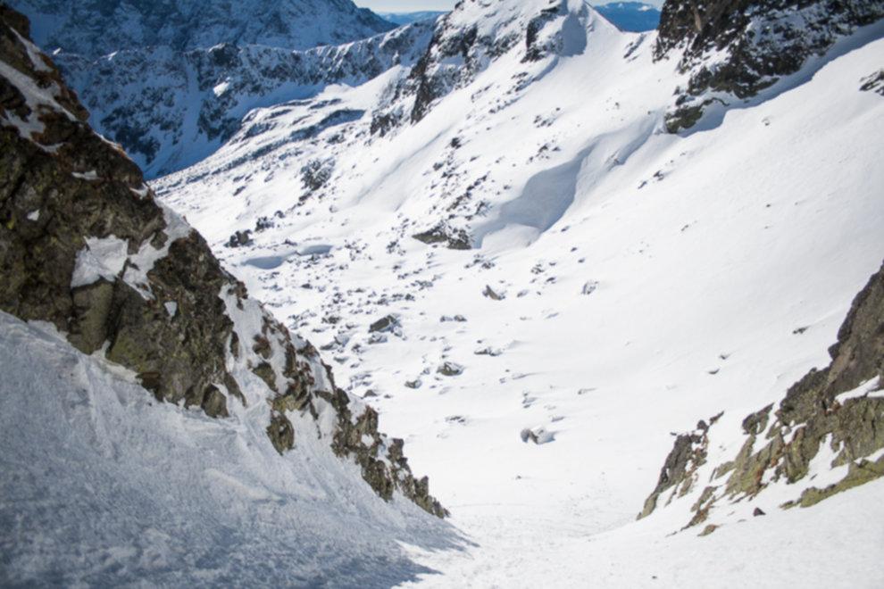 tatry wysokie zima dolina 5 stawow 166 of 221 - Szpiglasowy Wierch i Kozia przełęcz w zimie