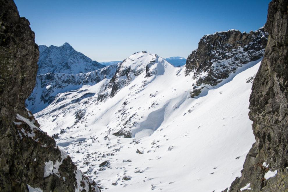 tatry wysokie zima dolina 5 stawow 176 of 221 - Szpiglasowy Wierch i Kozia przełęcz w zimie