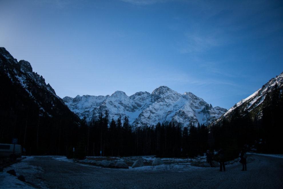 tatry wysokie zima dolina 5 stawow 25 of 221 - Szpiglasowy Wierch i Kozia przełęcz w zimie