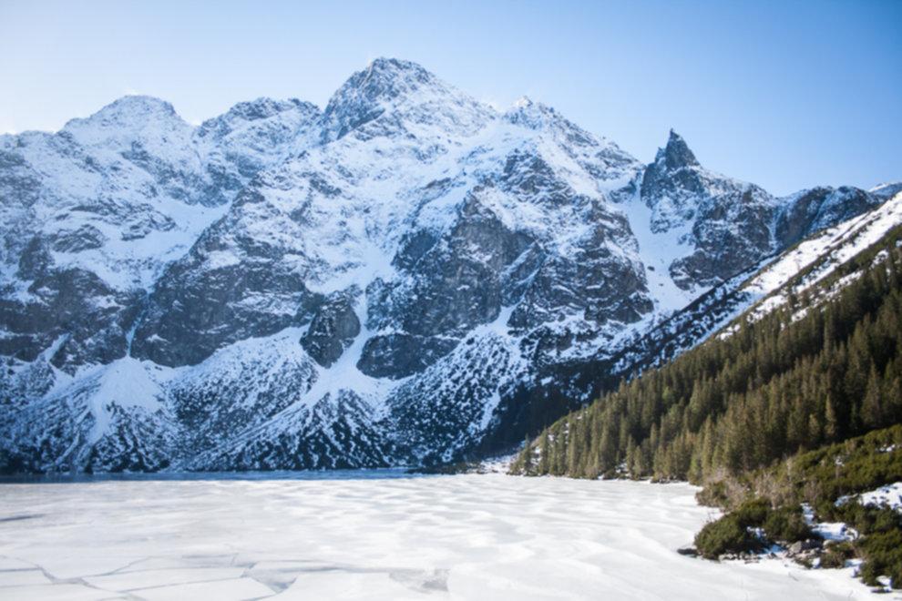 tatry wysokie zima dolina 5 stawow 28 of 221 - Szpiglasowy Wierch i Kozia przełęcz w zimie