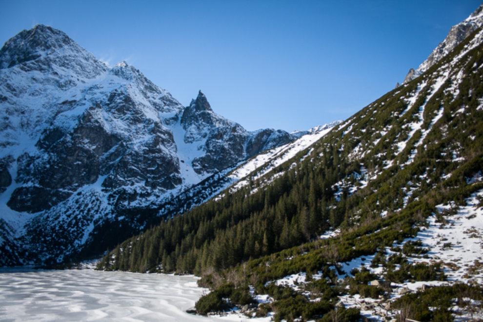 tatry wysokie zima dolina 5 stawow 31 of 221 - Szpiglasowy Wierch i Kozia przełęcz w zimie