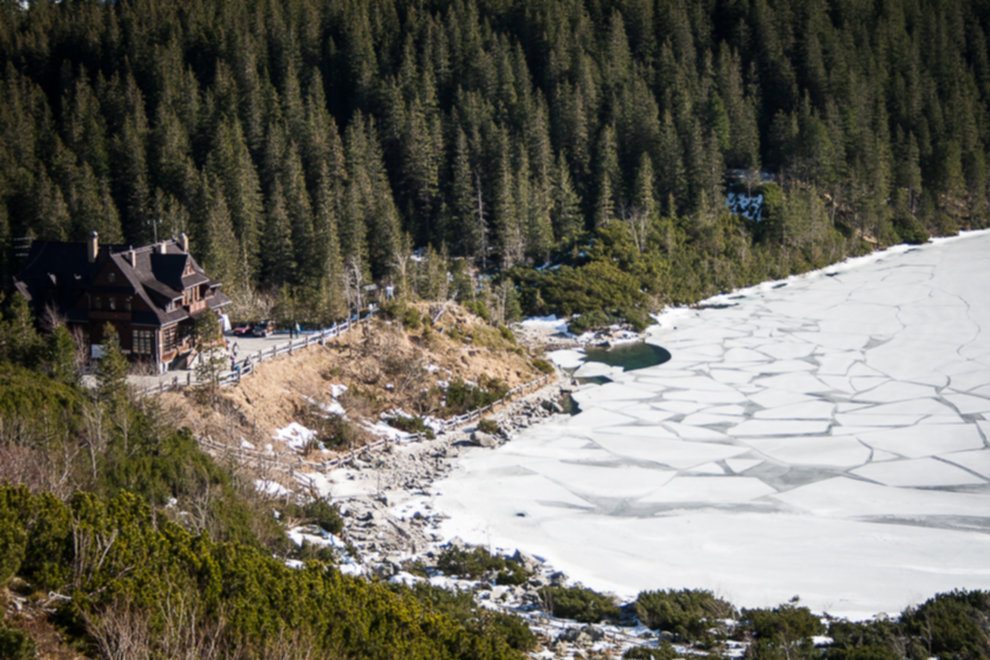 tatry wysokie zima dolina 5 stawow 40 of 221 - Szpiglasowy Wierch i Kozia przełęcz w zimie