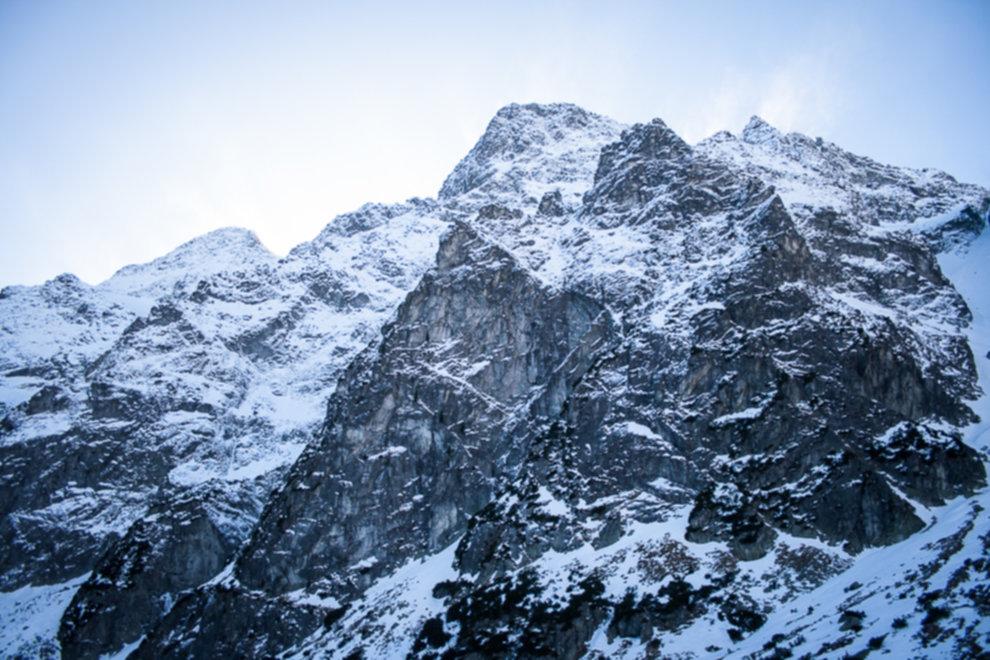 tatry wysokie zima dolina 5 stawow 51 of 221 - Szpiglasowy Wierch i Kozia przełęcz w zimie