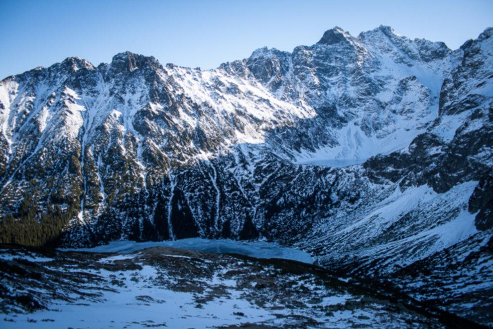 tatry wysokie zima dolina 5 stawow 59 of 221 - Szpiglasowy Wierch i Kozia przełęcz w zimie