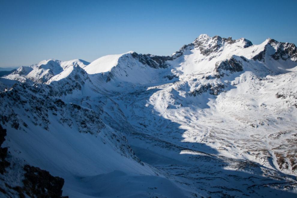 tatry wysokie zima dolina 5 stawow 85 of 221 - Szpiglasowy Wierch i Kozia przełęcz w zimie
