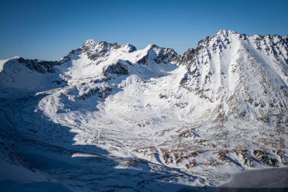 tatry wysokie zima dolina 5 stawow 86 of 221 - Szpiglasowy Wierch i Kozia przełęcz w zimie
