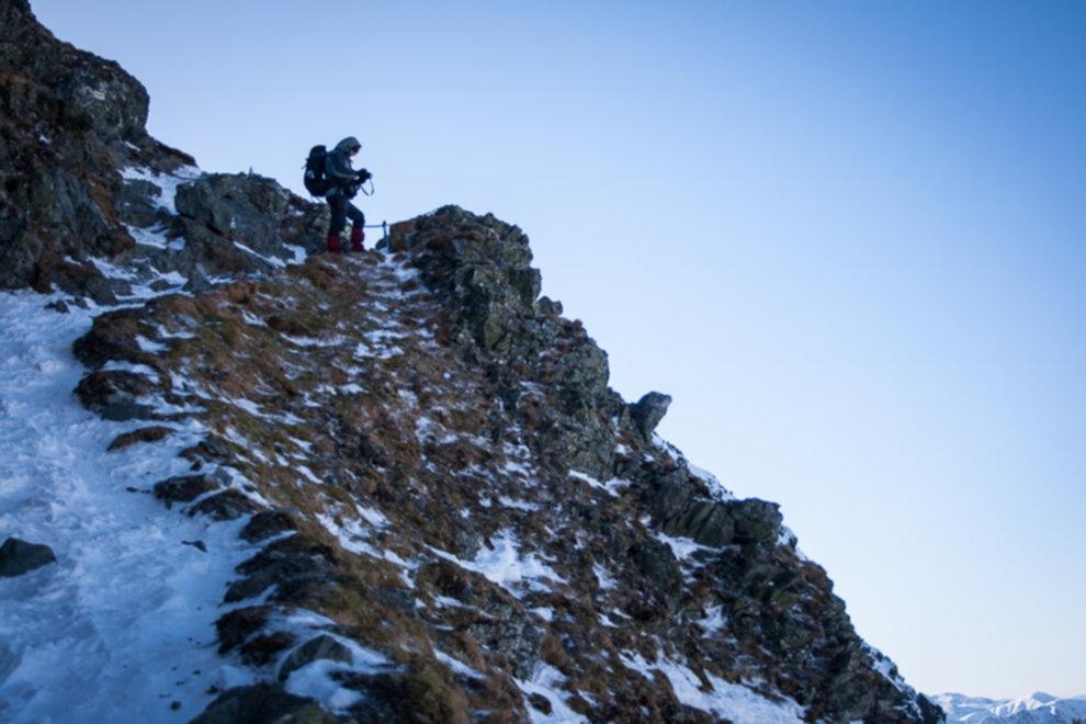 tatry wysokie zima dolina 5 stawow 87 of 221 - Szpiglasowy Wierch i Kozia przełęcz w zimie