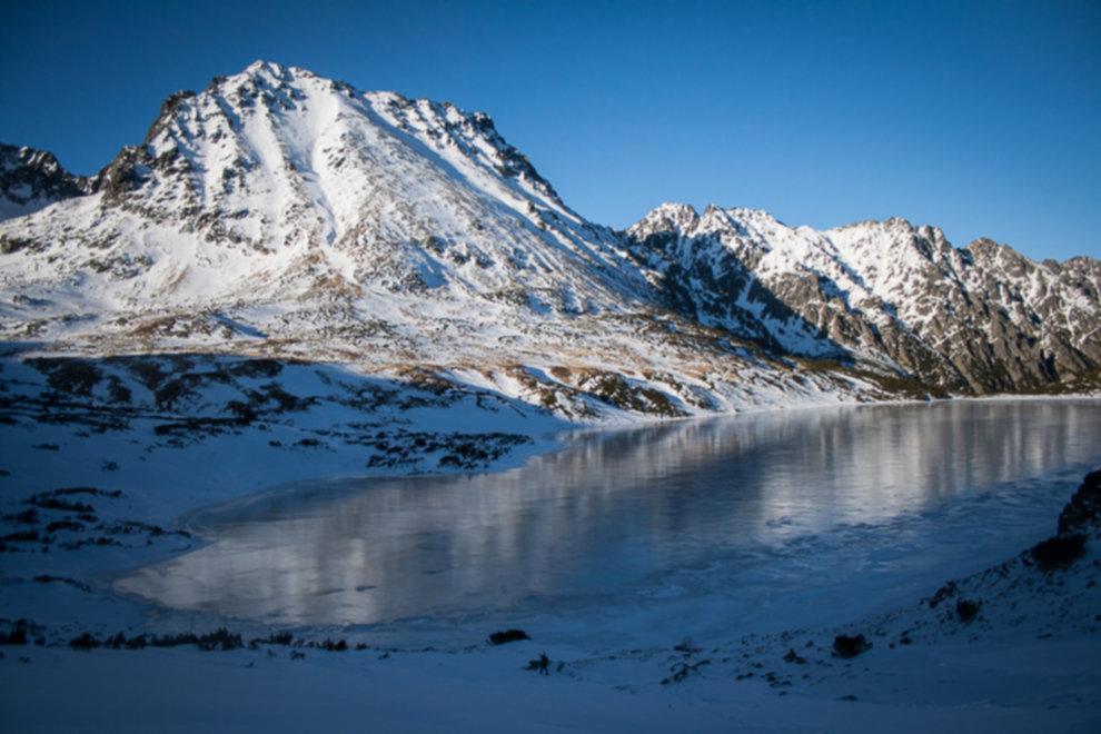 tatry wysokie zima dolina 5 stawow 94 of 221 - Szpiglasowy Wierch i Kozia przełęcz w zimie