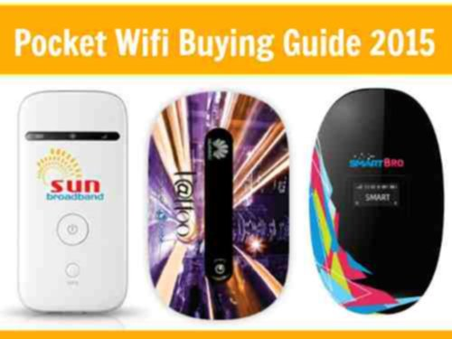 Barat Ako Pocket Wifi Buying Guide 2015 - Internet na Filipinach