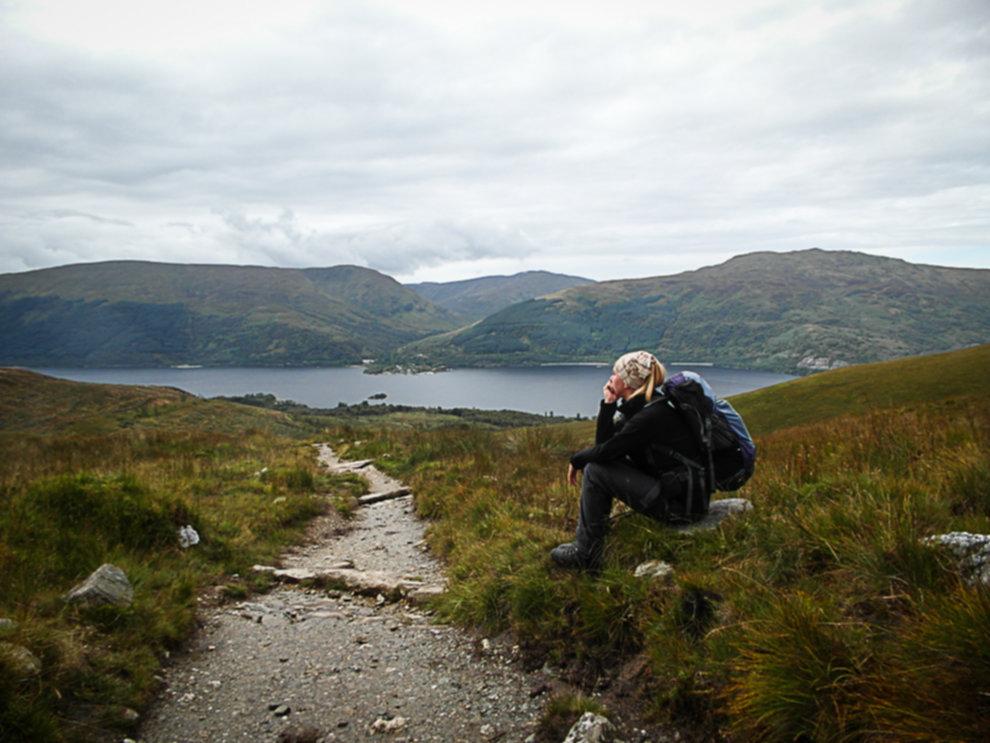 SAM 1669 - Jak tanio zwiedzić Szkocje? - South Highlands