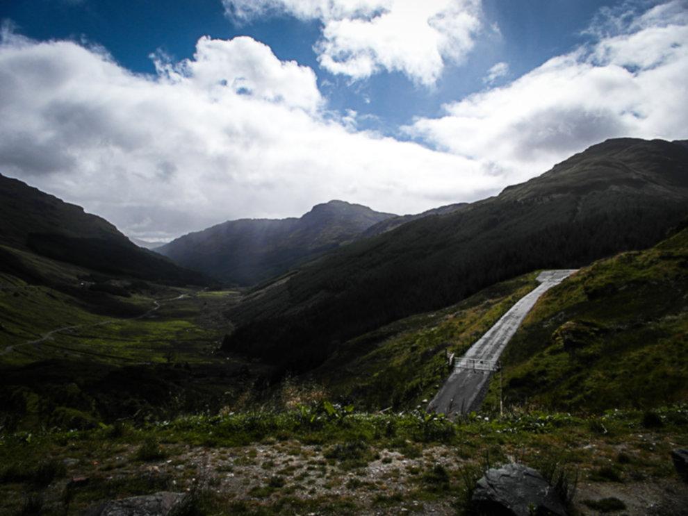 SAM 1745 - Jak tanio zwiedzić Szkocje? - South Highlands