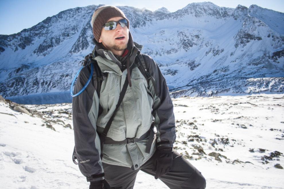 tatry wysokie zima dolina 5 stawow 142 of 221 - Szpiglasowy Wierch i Kozia przełęcz w zimie