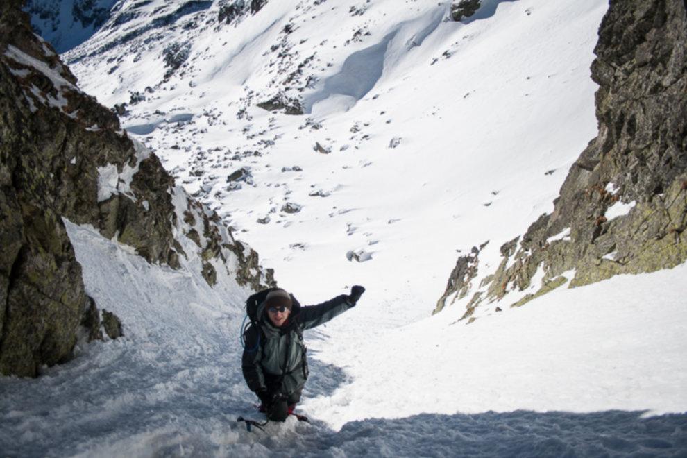tatry wysokie zima dolina 5 stawow 172 of 221 - Szpiglasowy Wierch i Kozia przełęcz w zimie