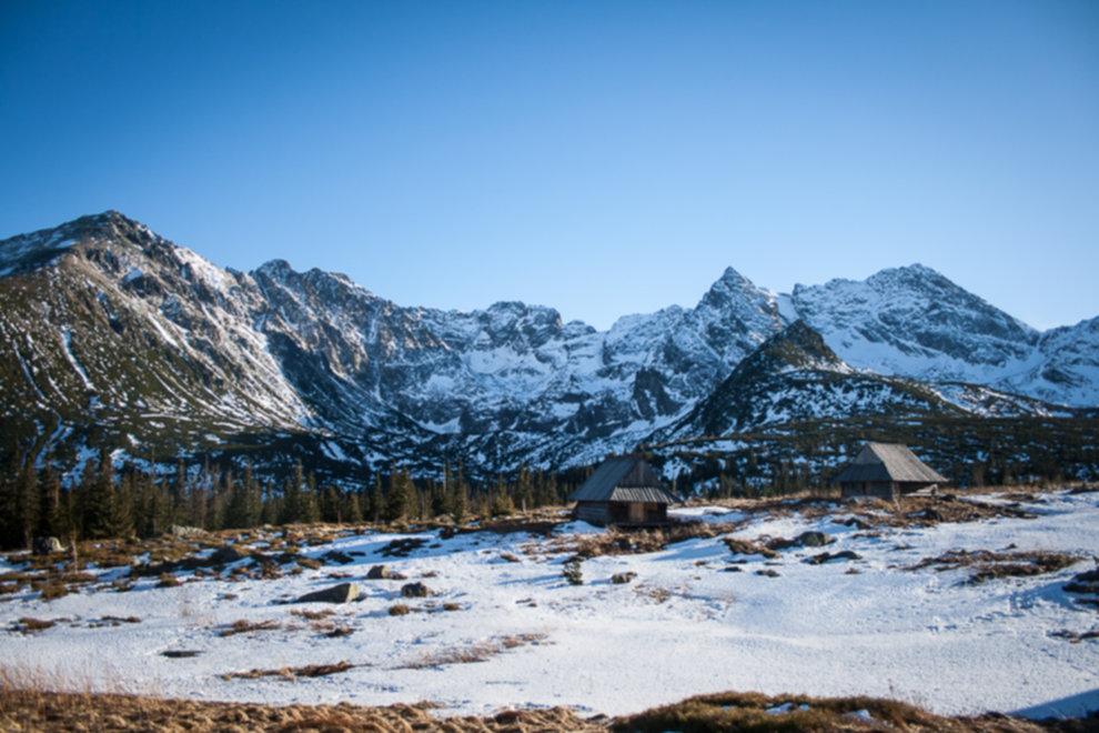 tatry wysokie zima dolina 5 stawow 211 of 221 - Szpiglasowy Wierch i Kozia przełęcz w zimie