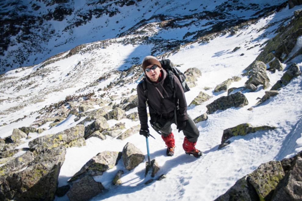 tatry wysokie zima dolina 5 stawow 72 of 221 - Szpiglasowy Wierch i Kozia przełęcz w zimie