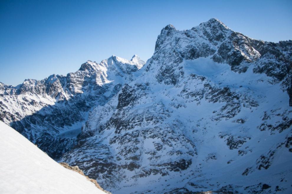tatry wysokie zima dolina 5 stawow 78 of 221 - Szpiglasowy Wierch i Kozia przełęcz w zimie