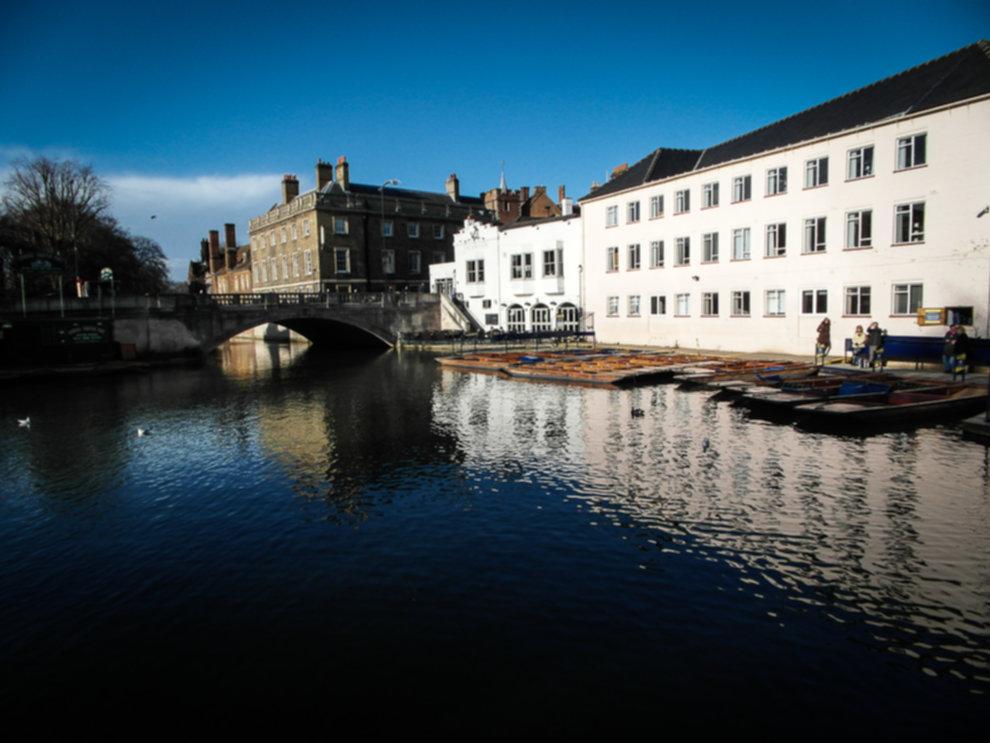 River Cam - Miasto w 48 godzin:  Cambridge