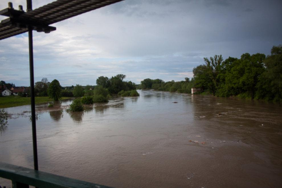 IMG 0003 - W Bochni wielka woda – zagrożenie powodziowe