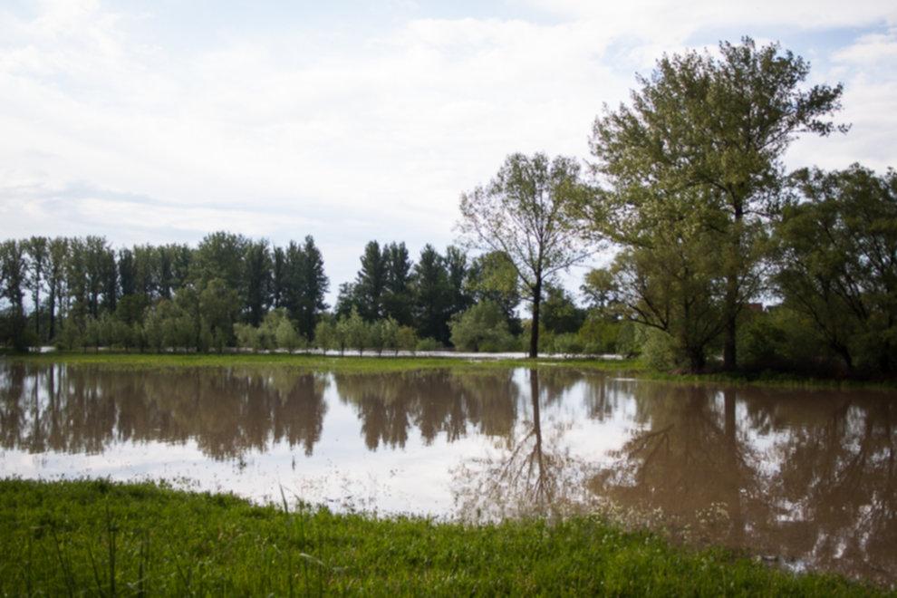 IMG 0005 - W Bochni wielka woda – zagrożenie powodziowe