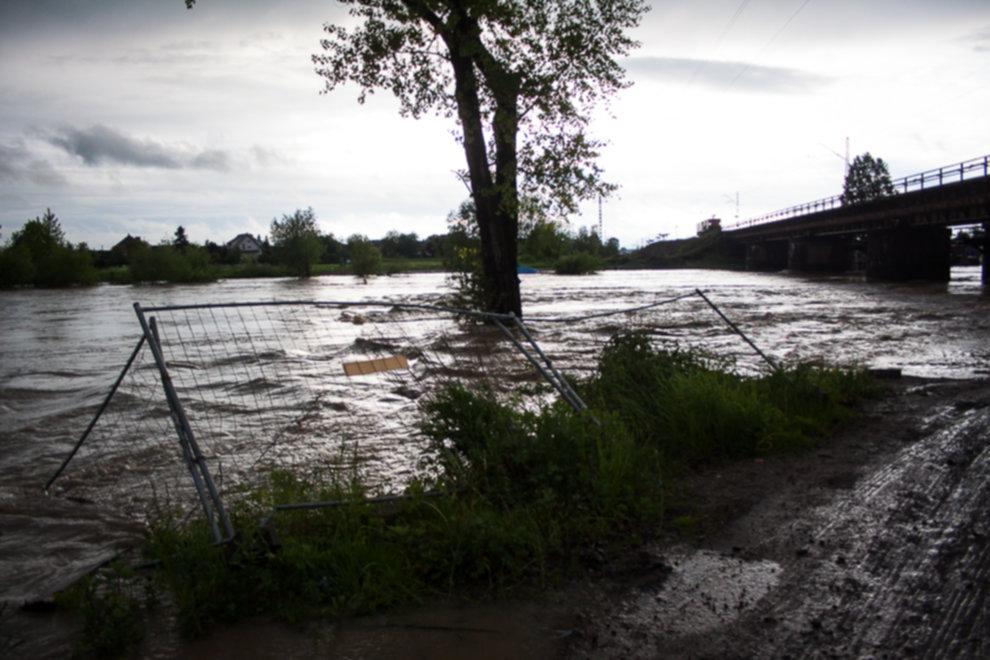 IMG 0012 - W Bochni wielka woda – zagrożenie powodziowe