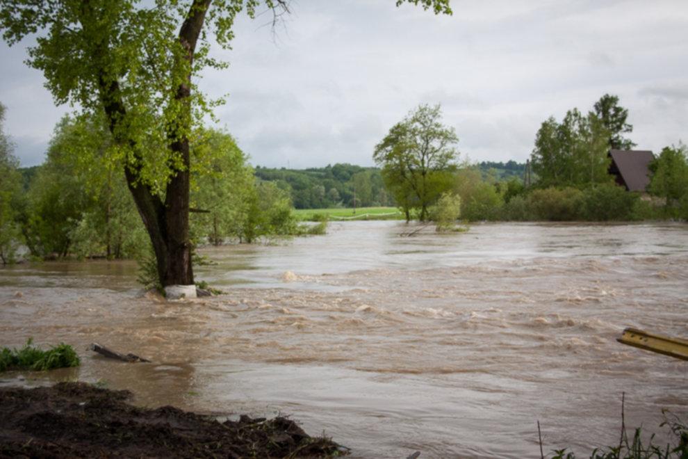 IMG 0019 - W Bochni wielka woda – zagrożenie powodziowe