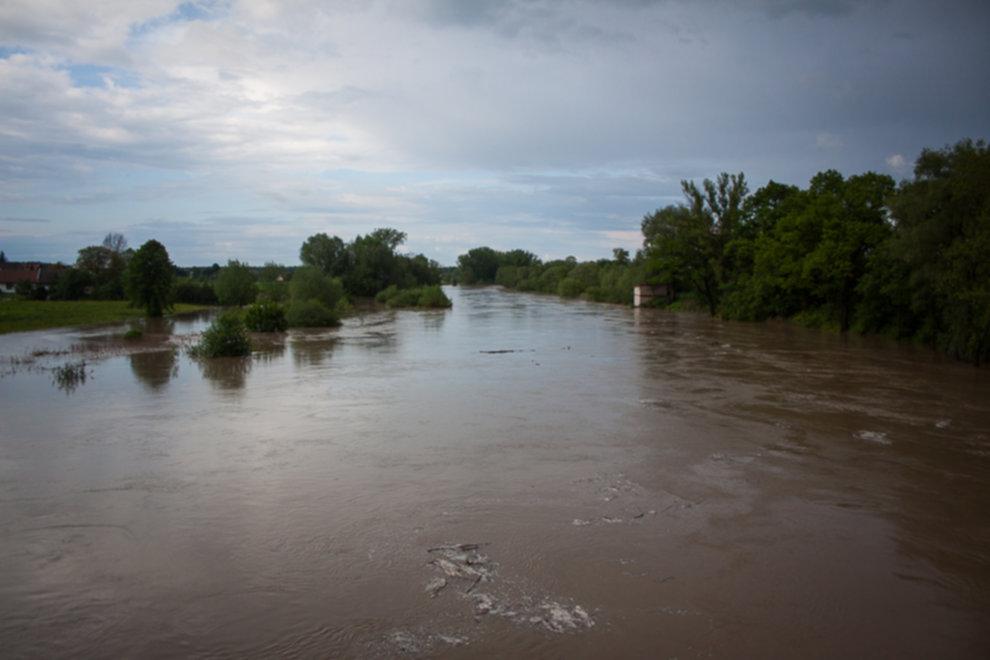 IMG 9998 - W Bochni wielka woda – zagrożenie powodziowe