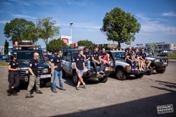 Off Road Rumunia - Ekipa przed wyjazdem