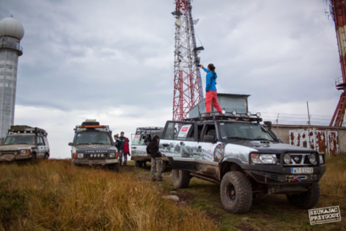 Off Road Rumunia - jedna z gór