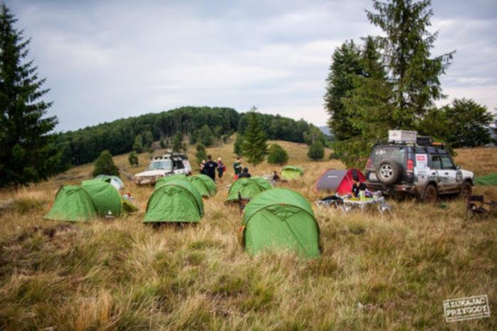 Off Road Rumunia - biwakowanie