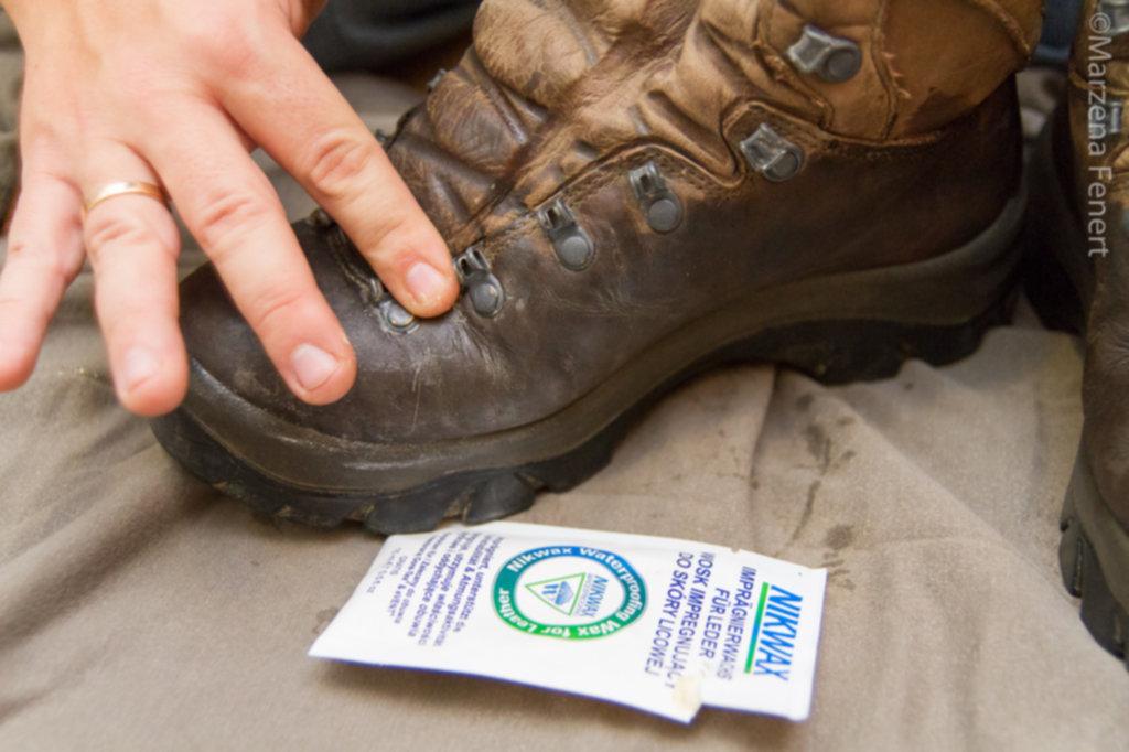 IMG 0058 1024x682 - Jak woskować buty górskie – krok po kroku