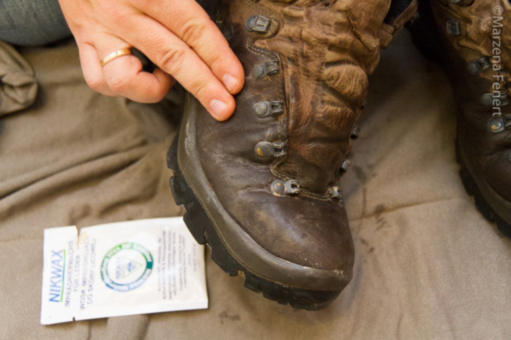 IMG 0059 1024x682 - Jak woskować buty górskie – krok po kroku