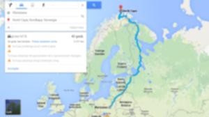 mapa warszawa nordkapp 300x168 - Przez Rosję na Nordkapp – wyprawa 4x4