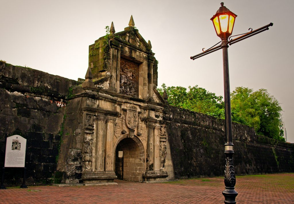 Fort santiago 3itramuros 1024x710 - City of Manila – co odwiedzić w stolicy Filipin
