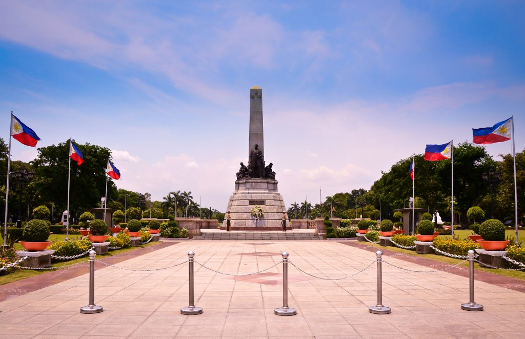Rizal Monument at Rizal Park 1024x661 - City of Manila – co odwiedzić w stolicy Filipin