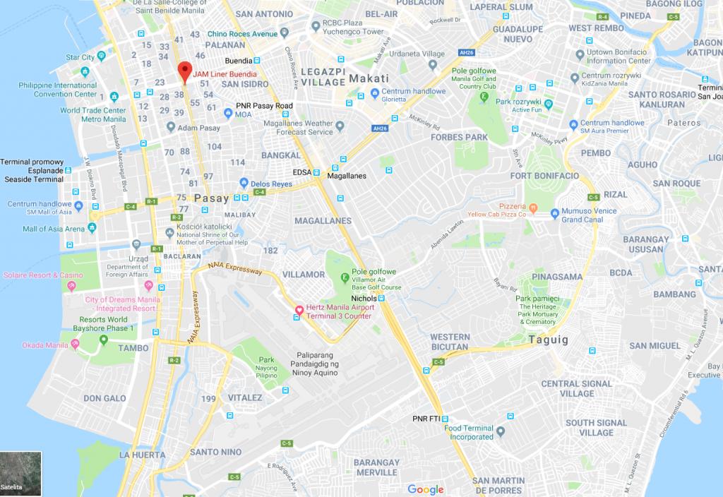 jam manila 1024x704 - Puerto Galera – ucieczka z Manili