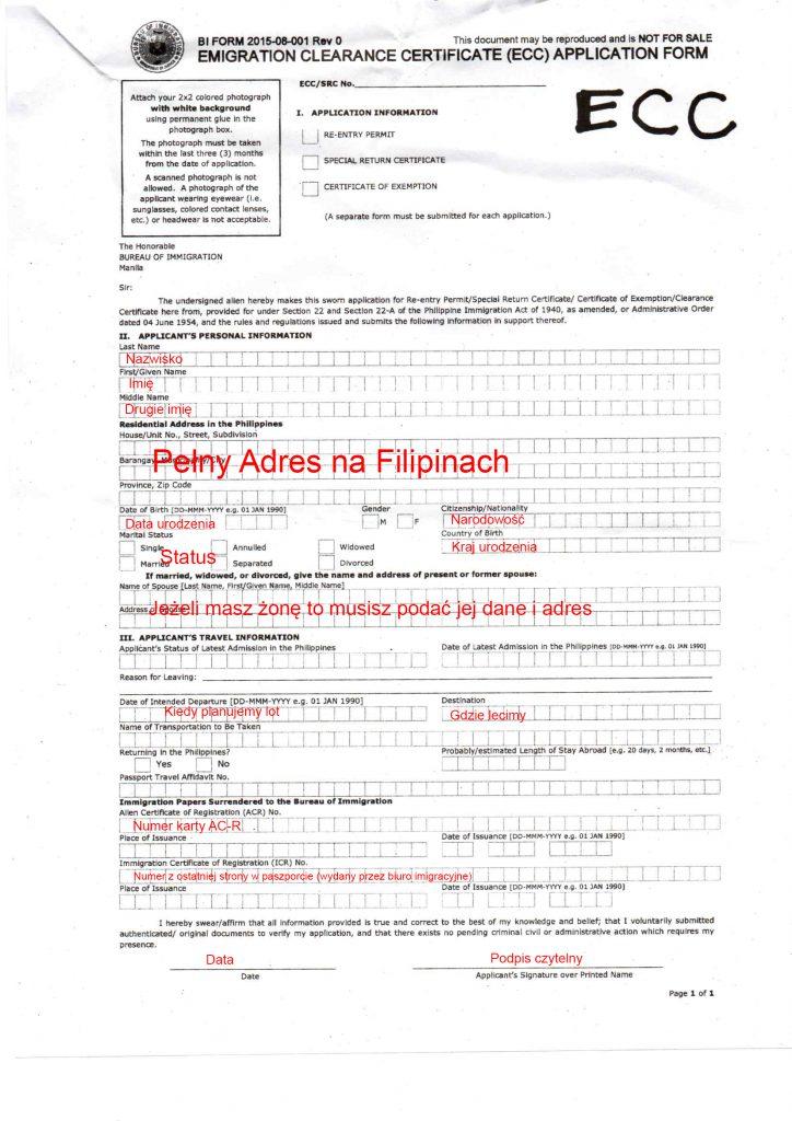ECC form 724x1024 - ECC – Emigration Clearance Certificate